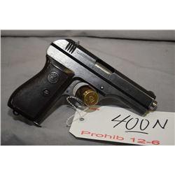 Prohib 12 - 6 CZ Model 27 7.65 MM Cal 8 Shot Semi Auto Pistol w/ 98 mm bbl [ blued finish starting t