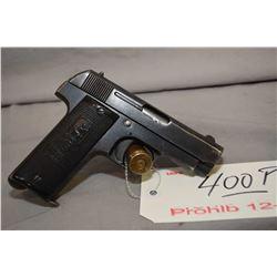 Prohib 12 - 6 Fabrique d, Armes De Guere De Grande Precision Model Jupiter 7.65 MM Cal 9 Shot Semi A