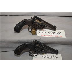 Lot of Two Prohib 12 - 6 Handguns - Smith & Wesson Model 32 Double Action Fourth Model .32 S & W Cal