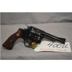 Prohib 12 - 6 Smith & Wesson Model 33 .38 S & W Cal 5 Shot Revolver w/ 102 mm bbl [ blued finish, sl