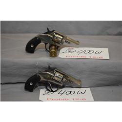 Lot of Two Prohib 12 - 6 Handguns - Harrington & Richardson Model Young America .22 Rimfire Cal 7 Sh