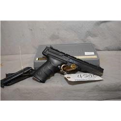 Restricted - Browning Model Buck Mark Contour URX .22 LR Cal 10 Shot Semi Auto Pistol w/ 140 mm bbl