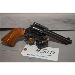 Restricted - Herbert Schmidt Model 21 .22 LR / .22 Mag Cal 6 Shot Revolver w/ 121 mm bbl [ blued fin