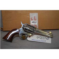 Restricted Cimarron Firearms Model Frontier Six Shooter .45 Colt Cal 6 Shot Revolver w/ 121 mm bbl [