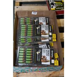Tray Lot : Ten Packages ( 24 rnds per ) Remington .50 Cal 200 Grain UML Ignition System Bullets Reta