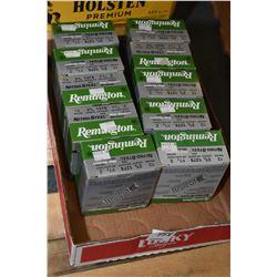 "Tray Lot : Ten Boxes ( 25 rnds per ) Remington Nitro Steel .12 Ga 2 3/4"" # 2 Shot Shells - Retail $"
