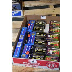 Tray Lot : Five Boxes ( 50 rnds per ) PRVI Partizan .40 S & W Cal 180 Grain Ammo - Plus Six Boxes (