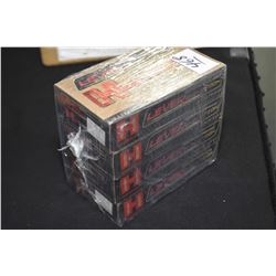 Package Lot : Four Boxes ( 20 rnds per ) Hornady Leverevolution .308 Marlin Express 160 Grain Retail