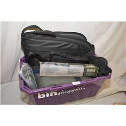 Purple Plastic Tub : Uncle Mike's Zippered Padded Pistol Case - Marlin Papoose Gun Case - Padded Cas