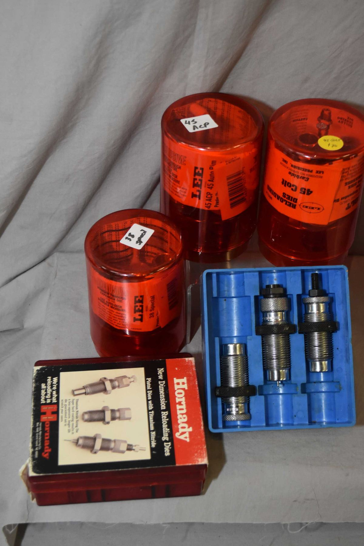Box Lot : Handgun Dies : Bair  38 S & W - Hornady  32 S & W - H & R