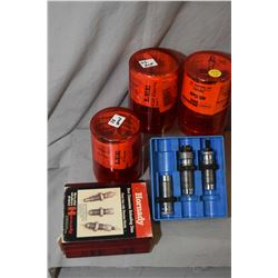 Box Lot : Handgun Dies : Bair .38 S & W - Hornady .32 S & W - H & R Mag - Titanium Nitrade Three Die