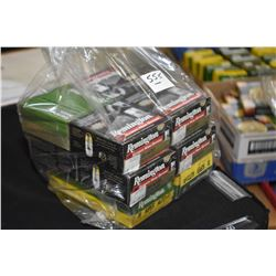 Bag Lot : Two Boxes ( 50 rnds per ) Remington .38 Super Auto Cal Ammo - Eight Boxes ( 25 rnds per )