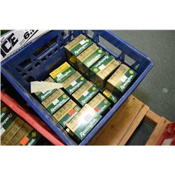 "Blue Plastic Crate : Seveneen Boxes ( 25 rnds per ) Remington .20 Ga 2 3/4"" # 9 Shot Shells - Retail"
