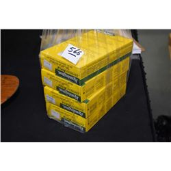 Bag Lot : Four Boxes ( 20 rnds per ) Remington .338 Lapua Mag Cal 250 Grain Ammo - Retail $ 136.99 E