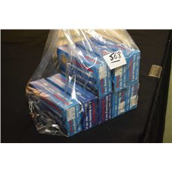 Bag Lot : Eight Boxes ( 50 rnds per ) PRVI Partizan . 9 MM Browning Long 108 Grain Ammo - Retail $ 3