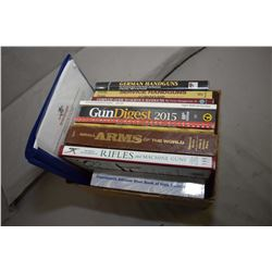 Box Lot : Eleven Gun Related Books : German Handguns - Service Handguns - Complete Guide to Service
