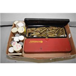 Tray Lot : Various Collector Ammo in assorted containers