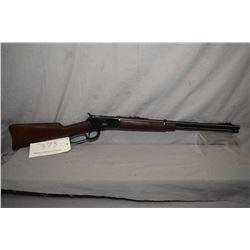 """Puma [Rossi] model 92SRC, .38 SPL/.357 mag, lever action, saddle ring carbine, 20"""" bbl, adjustable r"""