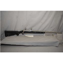 "Ruger M77 MK II, 300 win mag, mag feed, bolt action rifle, 24"" bbl, five shot, fitted with stainless"