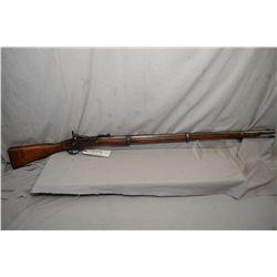 Snider Enfield 1858 MK II, single shot , rolling block rifle, 36 1/2 bbl, blue finish turning brown,