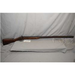 "Antique large calibre, muzzle loading percussion shot gun, 39"" barrel, action is marked Joseph Golch"