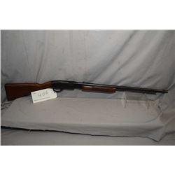 Remington model 572, .22 LR, 10 shot tube fed, pump action rifle, adjustable rear sight, blued finis