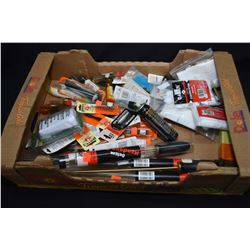 Large selection of brand new gun cleaning items including patches, rods, bore brushes etc.