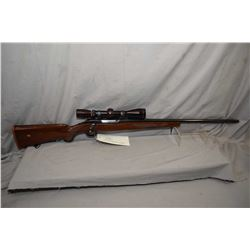 """Ruger M77 25-06 cal mag fed bolt action rifle 24"""" bbl [Fitted with leupold 3 x 9 vari-x II optic, wo"""