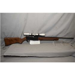 Browning BAR 243cal mag fed semi automatic rifle fitted with Bausch & Lomb 3-9X40 optic, overall exc