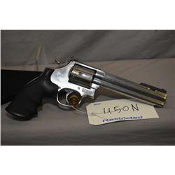 Restricted Smith & Wesson model 686-4 .357 magnum six shot revolver [four position adjustable front