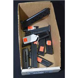 Ten assorted pistol mags including JW-22 etc.