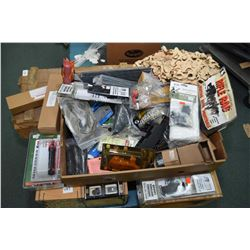 Large selection of predominately new firearm accessories including Mesa Tactical, Remington etc.