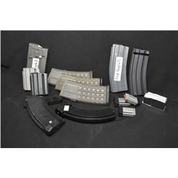 Selection of rifle mags including HK, AR, Volquartsen etc.