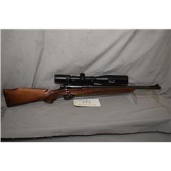 "Remington Mohawk 600, .243 Win bolt action, mag feed five shot rifle, 18"" bbl, fitted with Simmons P"