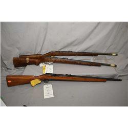 Three Kispaka 380 M .22 LR rifles, no bolts, Serial # 35546, Serial # 36295 and Serial # 41913