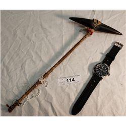 Emporio Armani 10atm/330ft Watch & Native Style Slave Killer