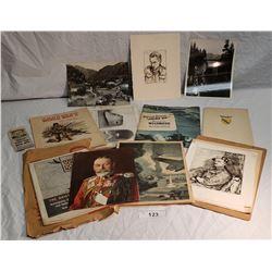 Various Military Paperwork & Photos