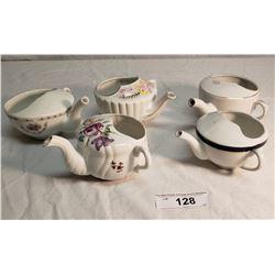 5 Vintage Ceramic Tea Servers