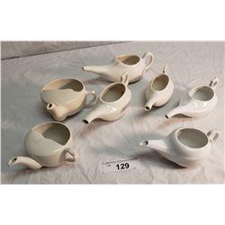 7 Vintage Ceramic Tea Servers
