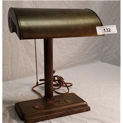 Brass Desk Lamp, 1940's