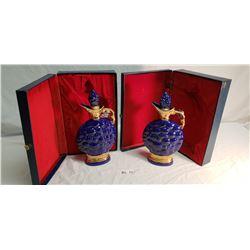 2 Jim Beam Liquor Vessels, Boxed, 175 Months