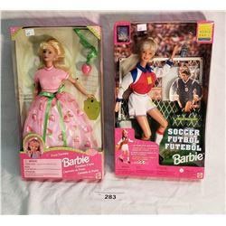 2 Barbies in Original Packaging