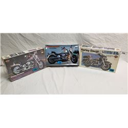 3 Harley Model Kits