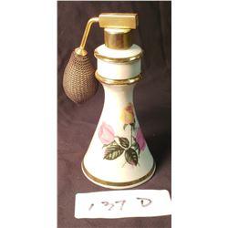 Porcelain German Antique Perfume Atomizer