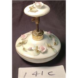 Antique Porcelain w/ Flora Plunger Perfume