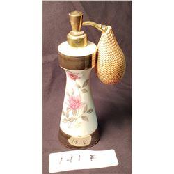 Antique Porcelain Perfume Atomizer