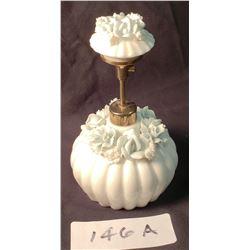 Antique Porcelain Perfume Atomizer Floral