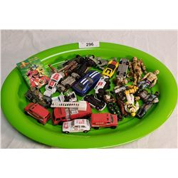 Tray Lot of Misc. Toys