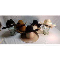 8 Various Cowboy Hats