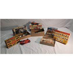 5 Assembled Model Kits